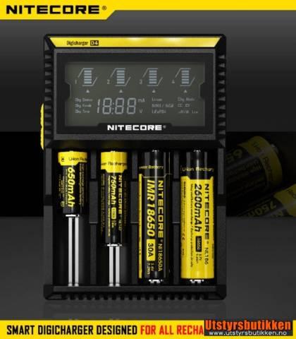 Bilde av Nitecore Digicharger D4 batterilader