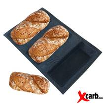 Silikon baguetteform 3x