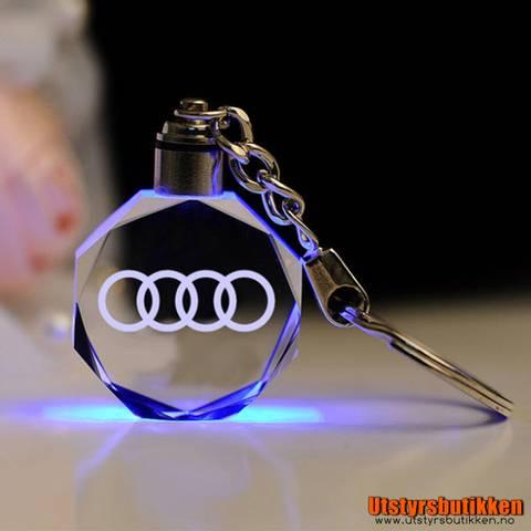 Bilde av Nøkkelring Audi 3D med lys