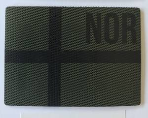 Bilde av IR Patch  Norsk Flagg Subdued