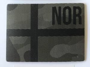 Bilde av IR Patch  Norsk Flagg