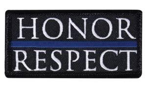 Bilde av Honor & Respect - Thin Blue