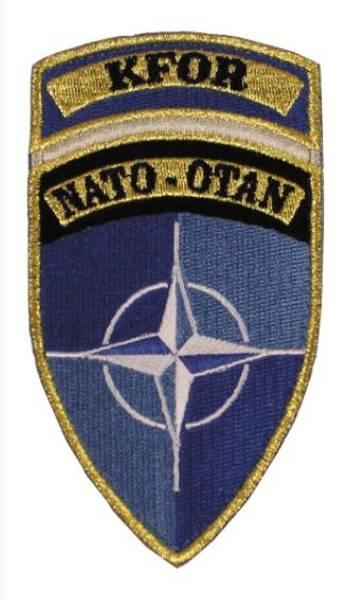 KFOR - Nato Velcro Patch