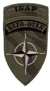 Bilde av ISAF - Nato Velcro Patch