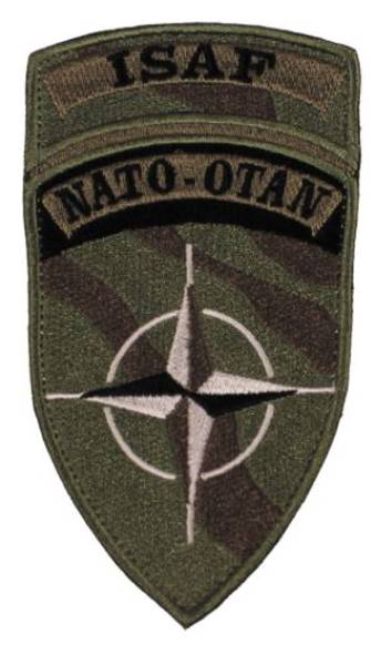 ISAF - Nato Velcro Patch Subdued
