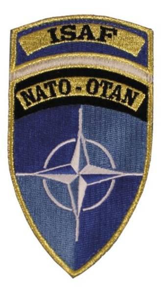 ISAF - Nato Velcro Patch