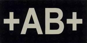 Bilde av Blodtype IR patch AB +