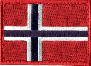 Bilde av Norsk Flagg  7 x 5cm