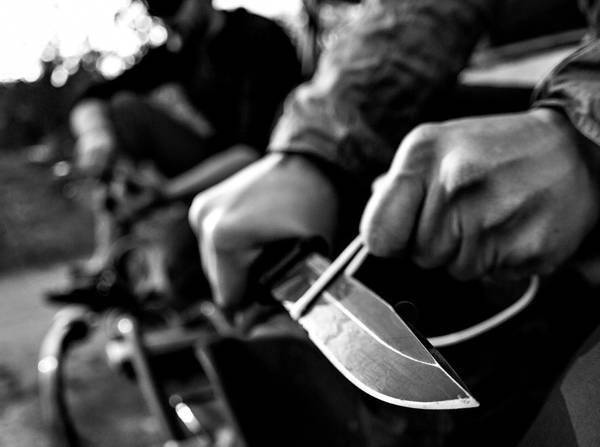 Gerber Strongarm Fixed Blade - Feltkniv BK/SR