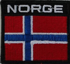 Bilde av NORGE patch sort