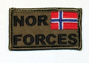 Bilde av NOR FORCES velcro patch