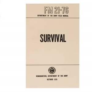 Bilde av Survival Håndbok - FM 21-76