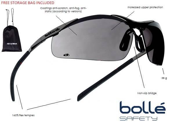 Bollè Contour Metall Solbriller