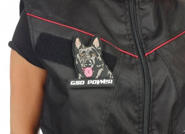 K9 Patch GSDpower - Schäferhundpatch