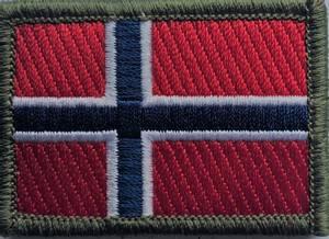 Bilde av Norsk Flagg  5,5 x 4