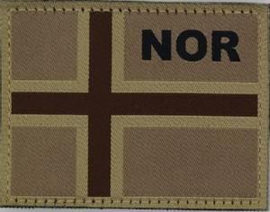 Bilde av Norsk Flagg Ørken
