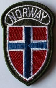 Bilde av NORWAY patch - Skjoldformet