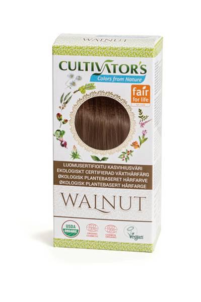Organic Hair Color, Walnut
