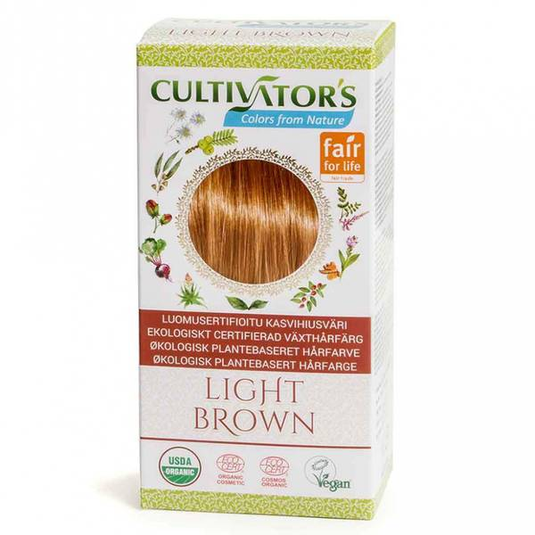 Cultivator`s Organic Hair Color Light Brown