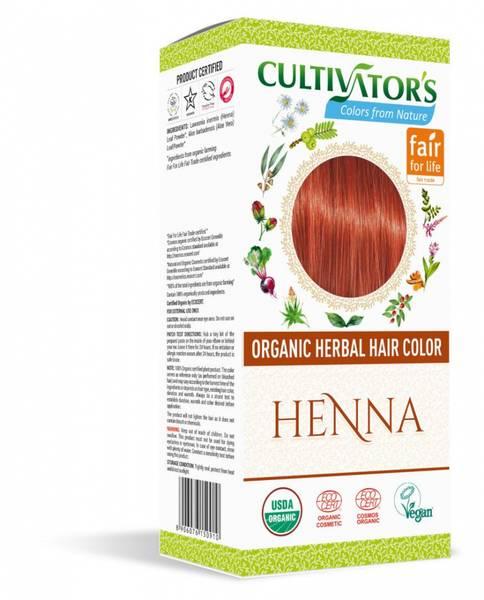 Cultivator`s Organic Hair Color Henna