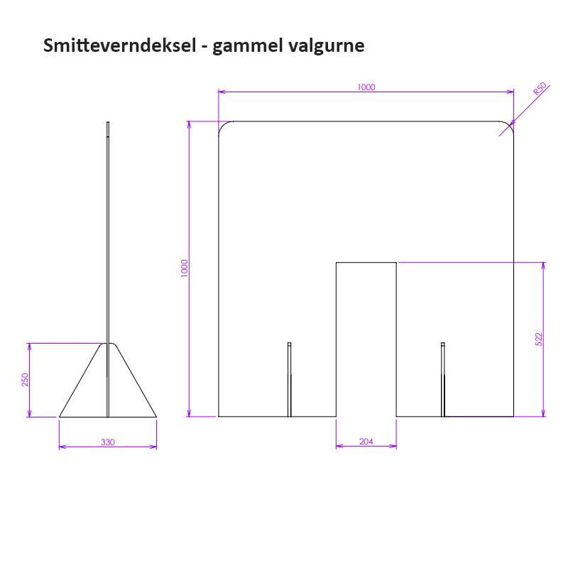 Bilde av Smitteverndeksel gammel urne i tre