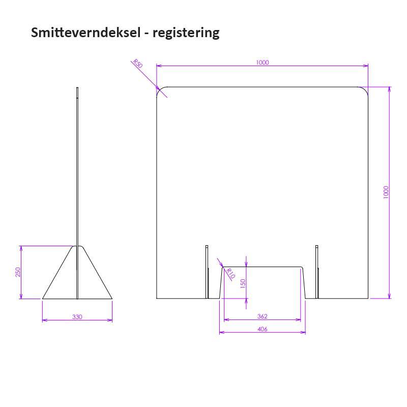 Bilde av Smitteverndeksel registrering