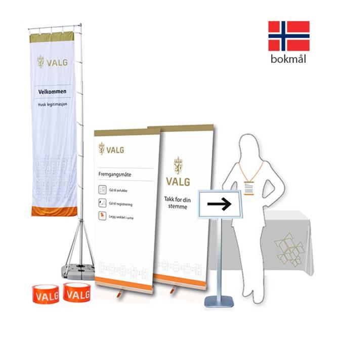 Bilde av Skiltpakke - bokmål