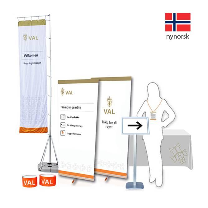 Bilde av Skiltpakke - nynorsk