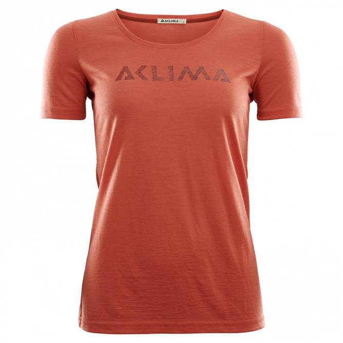 Bilde av Aclima LightWool t-shirt logo W's