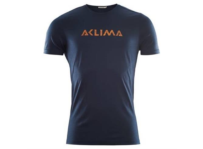 Bilde av Aclima LW t Shirt Logo blå