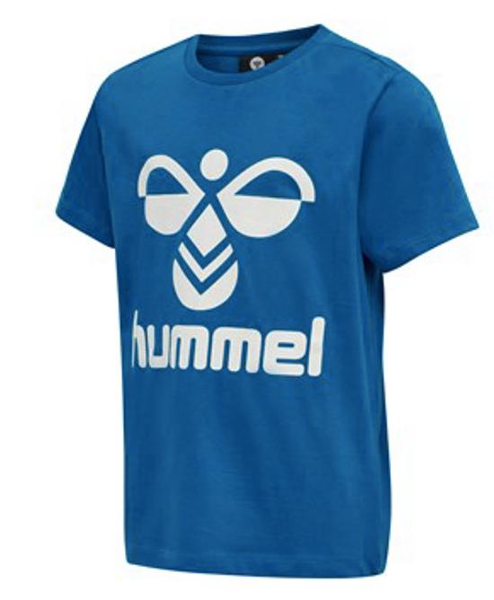Bilde av  Hummel Tres T-Shirt S/S mykonos blue