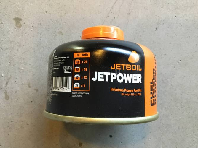 Bilde av JetBoil gass 100g