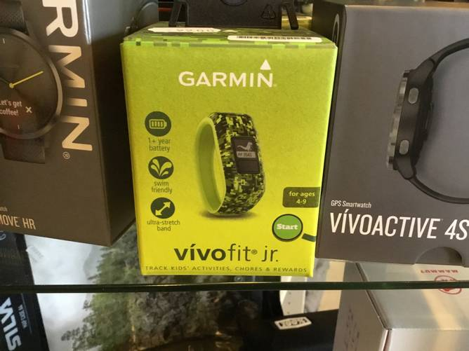 Bilde av Garmin vivofit jr grønn
