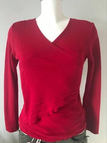 Bilde av z genser merinoull  bringebær M