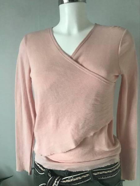 Bilde av z genser merinoull  lys rosa M
