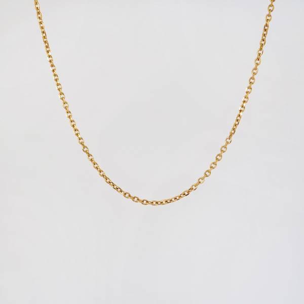 Bilde av halskjede, lenke gull