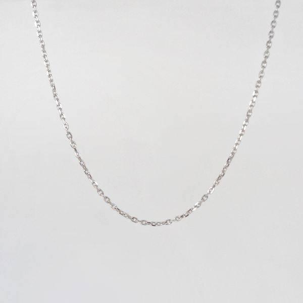 Bilde av Halskjede, lenke sølv