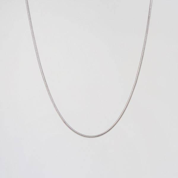 Bilde av Halskjede slangemønster Sølv