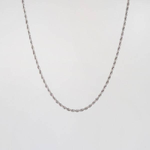 Bilde av Halskjede, vridd lenke , sølv
