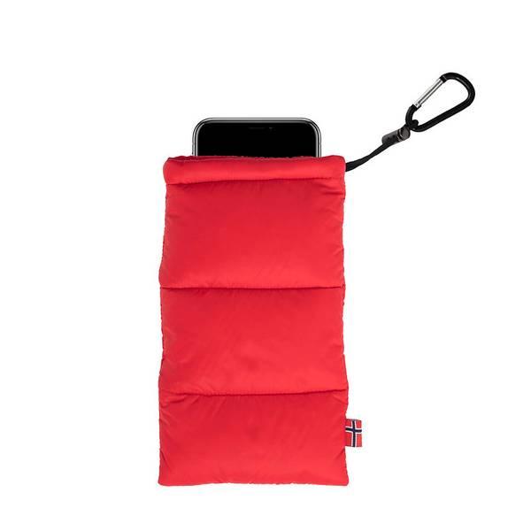 Thermopose til mobil - rød (3-søms)