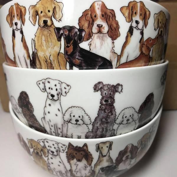Bilde av Skåler med hunder 6 stk