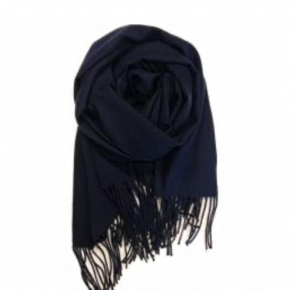 Bilde av Basic ullskjerf mørk blå
