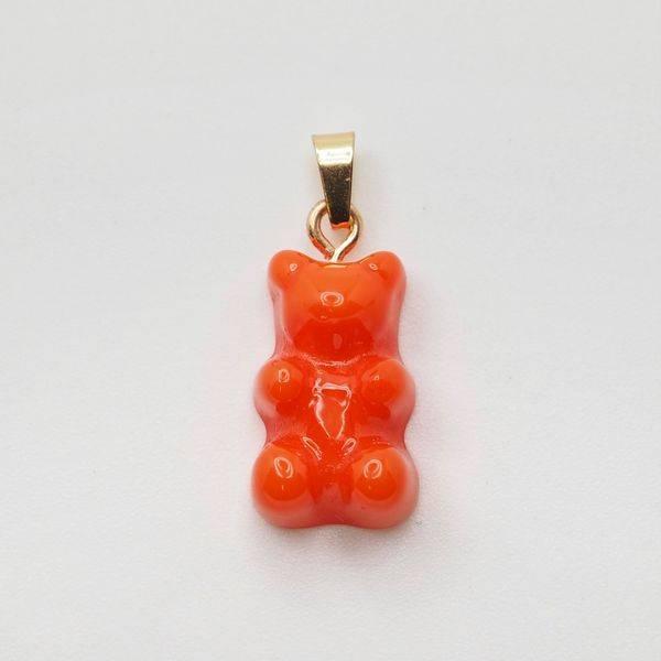 Bilde av Bamse anheng, oransje