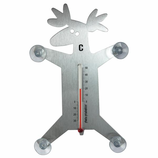 Bilde av Termometer Elg stål