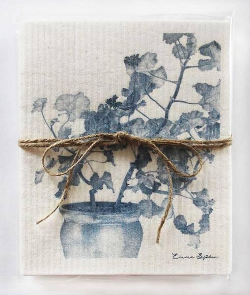Bilde av Kjøkkenkluter blå pelargonia