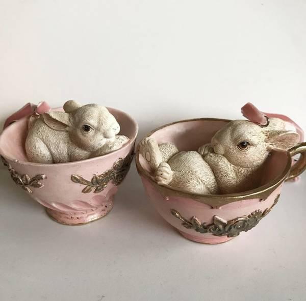 Bilde av Kaniner i kopper, rosa
