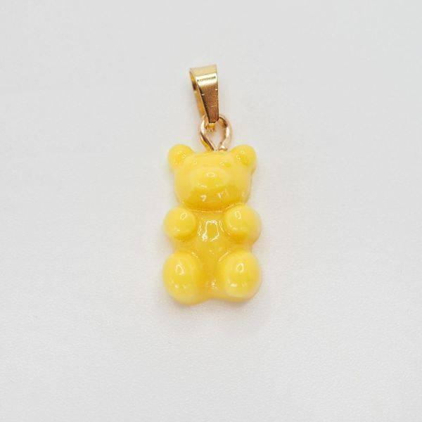Bilde av Bamse anheng, gul