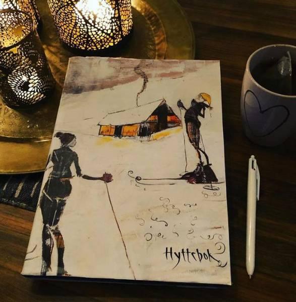 Bilde av Hyttebok vinterlig skimotiv