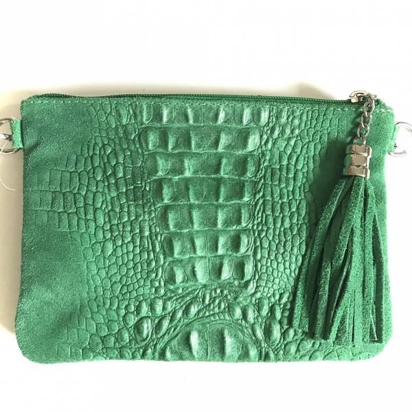 Bilde av Croco clutch grønn