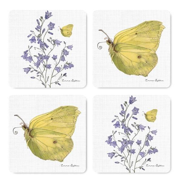 Bilde av Coasters sommerfugl og blåklokke